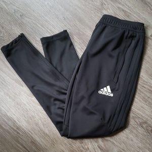Adidas Black Skinny Zip Ankle Athletic Pants XS
